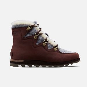 Sorel Sneakchic Alphine Shearling Boot